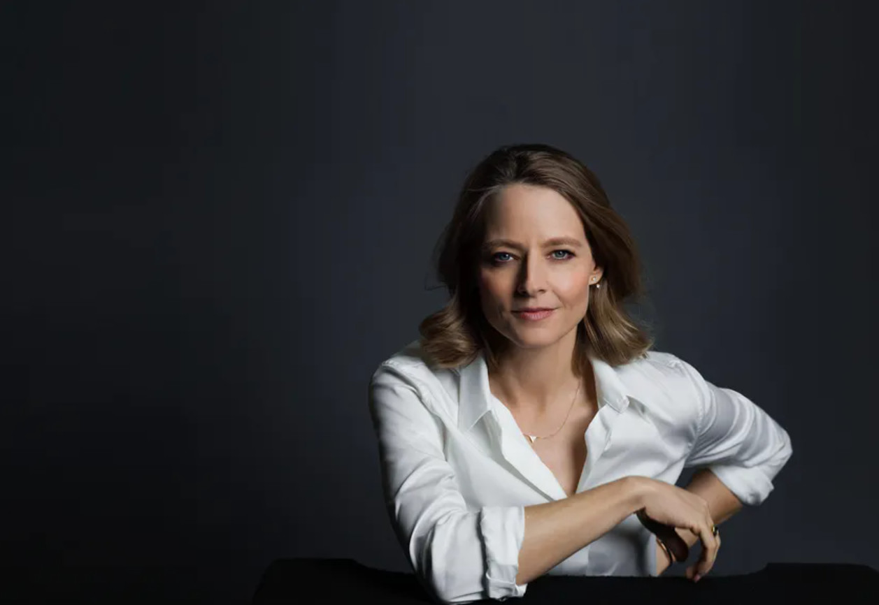 Jodie foster, honorary palme d'or © rr