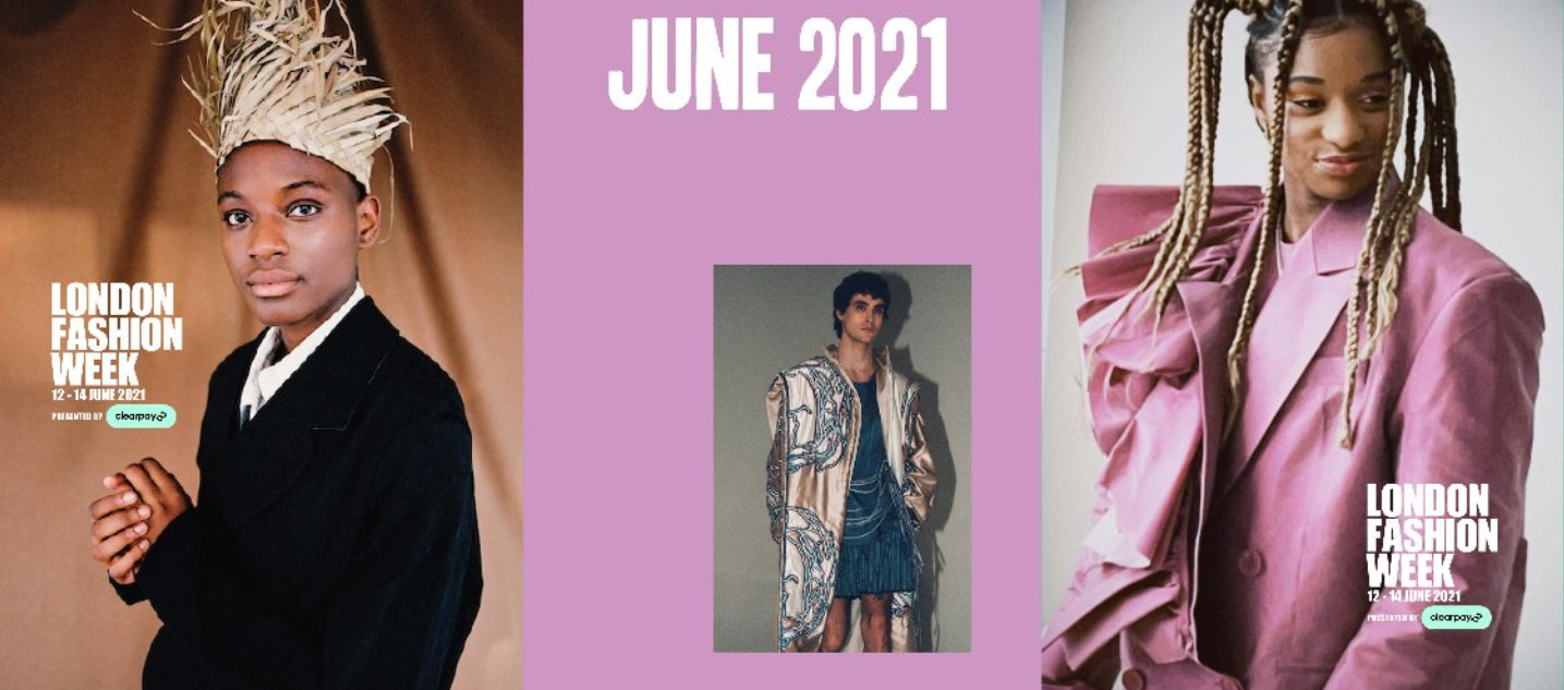 London fashion week presented by clearpay june 2021 starts tomorrow