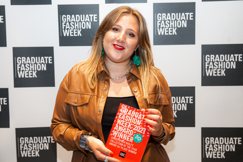 Manchester metropolitan university student takes home top prize at graduate fashion week