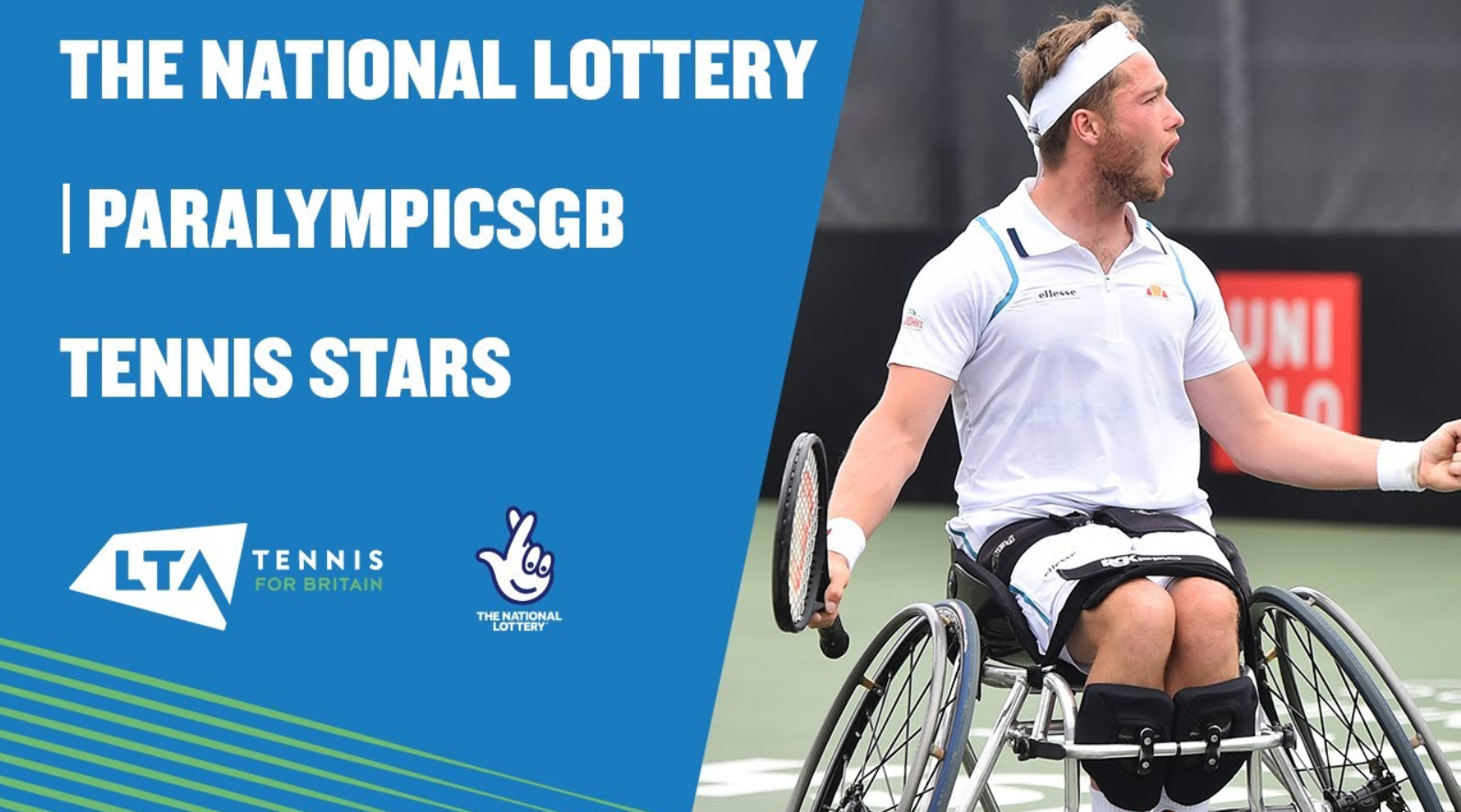 Lta and the national lottery champion paralympicsgb athletes ahead of tokyo games