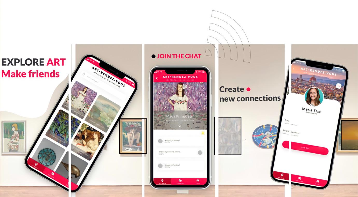 Arv app explore art