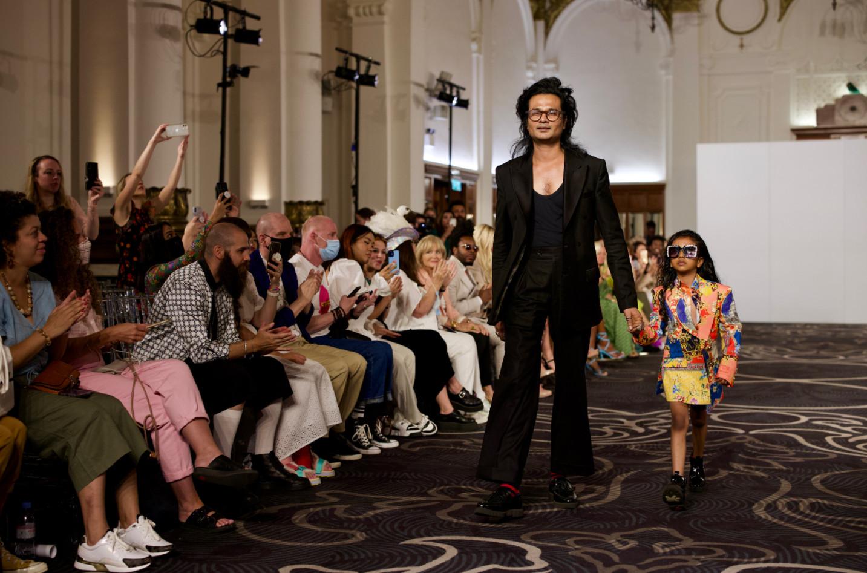 Helen anthony spring summer 2022 during london fashion week (9)