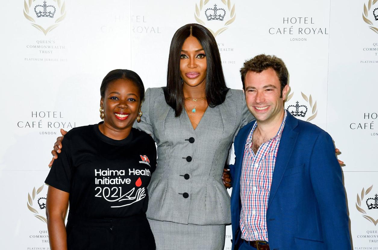 Naomi campbell joins the queen's commonwealth trust as global ambassador