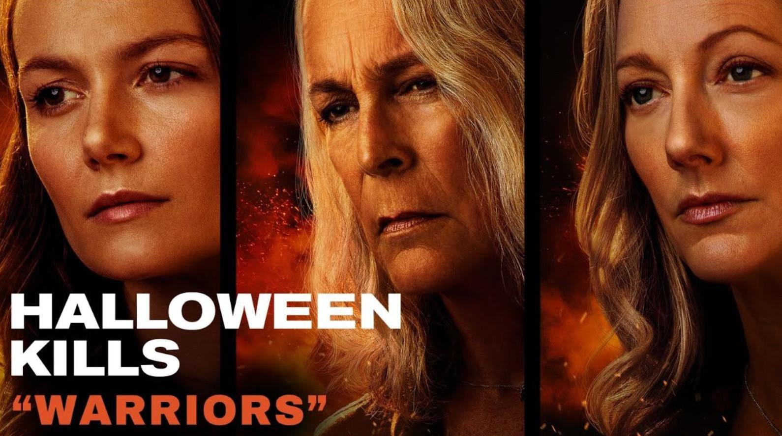 Halloween kills 'warriors' featurette in cinemas october 15