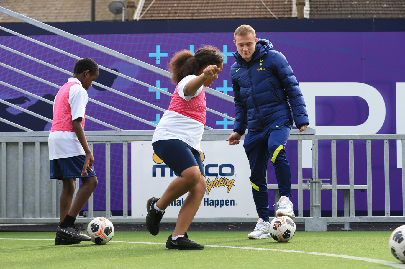 N17 arena – club unveils vibrant community space and talent id centre in the heart of tottenham (7)